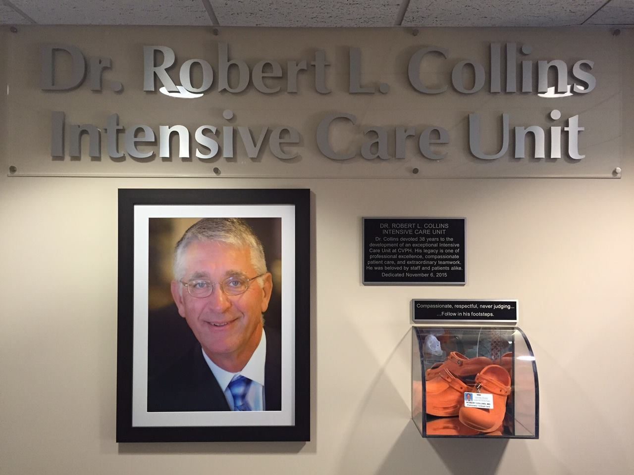Dr. Robert L. Collins ICU